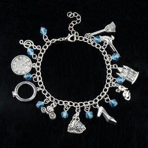 ⭐️2/$25 Disney Cinderella Inspired Charm Bracelet
